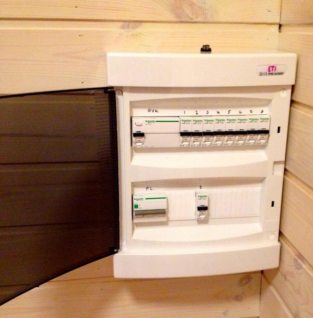 Elektrikilp saunas