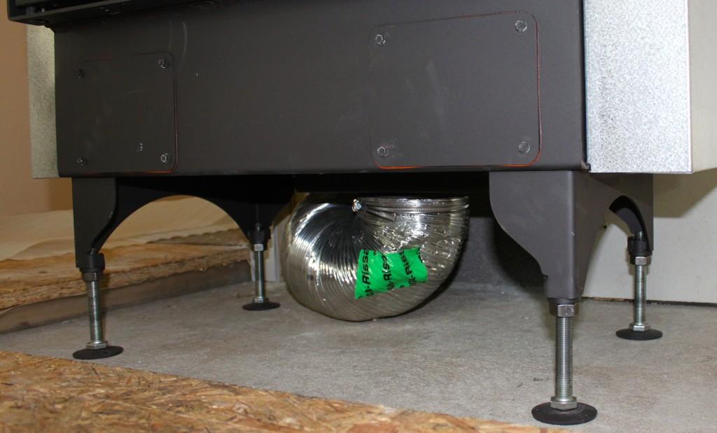 Energiatõhusa kaminalahenduse õhuvõtt